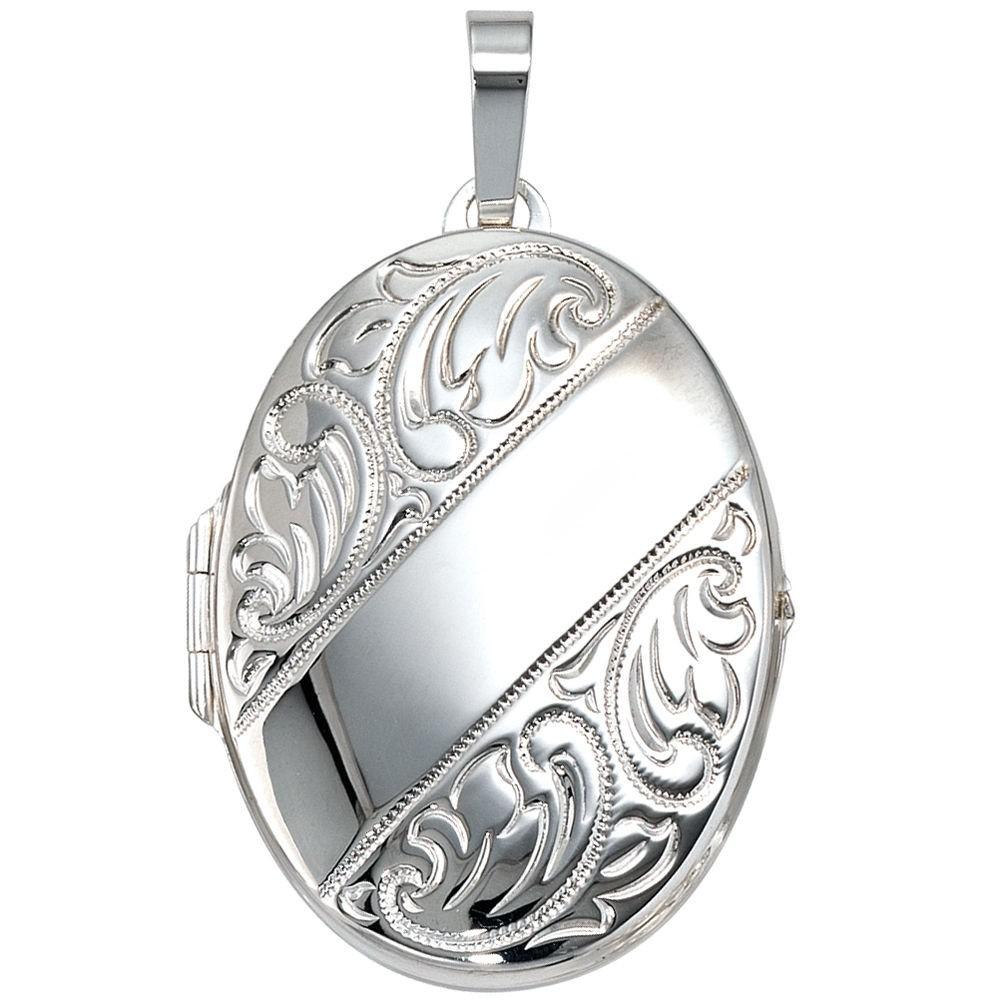 Anh 228 Nger Medaillon 925 Sterling Silber Schmuck