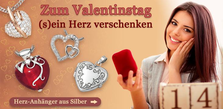 Herz-Anhänger aus Silber günstig kaufen
