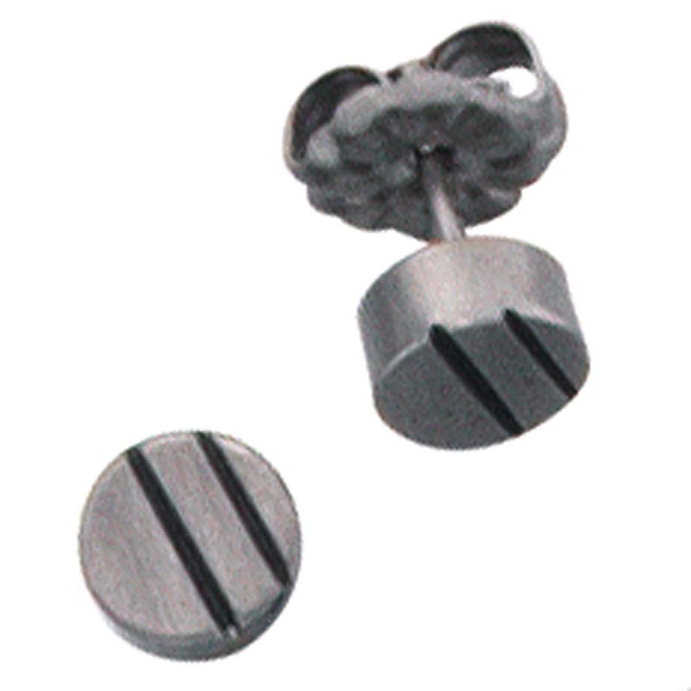 paar ohrstecker aus titan klein schlicht rund ohrschmuck. Black Bedroom Furniture Sets. Home Design Ideas