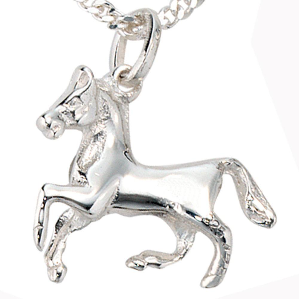 Kinderschmuck  Anhänger Pferd, Kettenanhänger, 925 Sterling Silber, Kinderschmuck ...